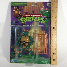 Teenage Mutant Ninja Turtles Michaelangelo Figure Playmates 1998 TNMT Vintage