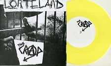"The Crap - Lorteland 7"" EP YELLOW VINYL War Of Destruction Hojbjerg Denmark Punk"