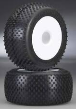 """Traxxas 5375R Response Pro 3.8"""" Tires/White Dish Wheels (2) Revo"""