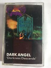 "RARE Dark Angel ""Darkness Descends"" cassette 1986 Original Thrash Metal"