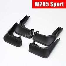 Mud Flaps FOR Mercedes C-Class W205 Sedan Sport 2015+ Splash Guard Accessories