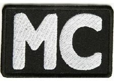 LOT OF 5 - MC BIKER CLUB EMBROIDERED PATCH