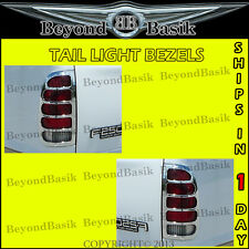 1999-2007 Superduty F250-F550 Chrome Plated Tail Light Trim Bezel Lamp Cover