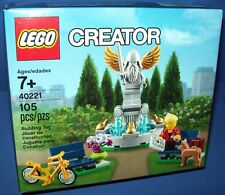 LEGO 40221 Creator Fountain exclusive new in sealed box
