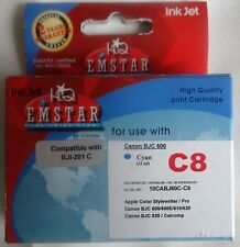 CANON BJC 600 C8 Inkt cartridge color Cyan HQ EMSTAR NIEUW NEW