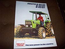 Deutz-Fahr Deutz D 4507 D 5207 D 6207 Tractor Advertising Brochure