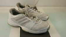 Adidas Adiwear 6 womens shoes size 6 jogging good condition grey and white