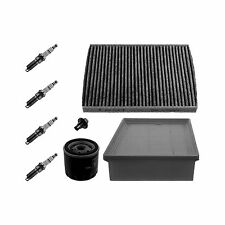 Febi Air Cabin Oil Filter Spark Plug Engine Service Kit / Set Genuine OE Quality
