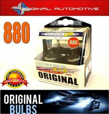 880 H27W/1 PROFESSIONAL HALOGEN SUPER WHITE HIGH PROFORMANCE XENON BULBS
