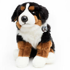 Berner Sennenhund FANNY sitzend Kuscheltier 27 cm Hund Plüschtier