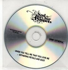 (DD452) Sad Day For Puppets, When You Tell Me That You Love Me - DJ CD