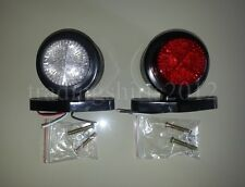 2xLED Side Marker Light Indicator Truck Trailer Van Chassis Lorry Camper Bus R/W