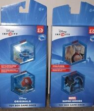 Disney Infinity Marvel Super Heroes/Disney 2.0 Edition(Double Disc Pack 4 Discs)