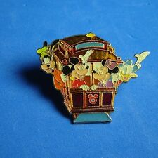 Mickey Minnie FAB 4 Cable Car San Francisco Disney Store Pin LE RARE