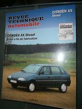 Citroen AX Diesel 1.4 1.5 : revue tech RTA 5034