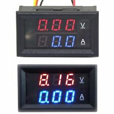 DC 0-100V 10A Digitale Led Voltmetro Amperometro Misuratore Tensione Voltage