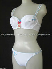 50% off! Impulse Intimate Brassiere White Bra & Panty Set 36 / Large BNWT P 455