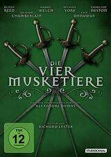 Die vier Musketiere (1974, Charlton Heston, Oliver Reed, Christopher Lee) DVD