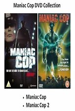 THE MANIAC COP DVD COLLECTION PART 1 AND 2 Brand New Sealed UK Release RARE