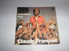 CLAUDE FRANCOIS 45 TOURS FRANCE PARDON