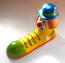 Vintage 1980's The Shoe People - CHARLIE THE CLOWN - Ceramic Moneybox / Bank