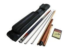Champion GN-910 2 Shaft Pool Cue, Hercules Jump and break cue, 2X2black cue Case