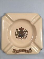 Queen Elizabeth II Coronation 1953 Enamel JK Ashtray