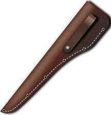 "Victorinox Swiss Army Brown Leather Knife Sheath Accepts 6"" Inch Blade 30215 NEW"