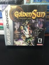 Golden Sun: The Lost Age  (Nintendo Game Boy Advance, 2003) NEW FACTORY SEALED