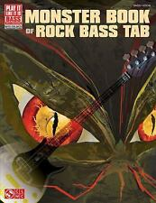 MONSTER BOOK OF ROCK BASS TAB 2501476