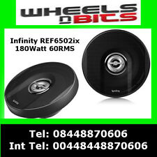 "Infinity Ref 6502IX Reference X 16.5 cm 6.5"" 135 Watts Car Coaxial Speakers"