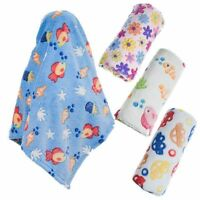 Baby Boy Girl Coral Fleece Coral Fleece Wrap Blanket by Soft Touch *New Designs*
