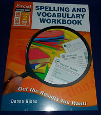 Spelling and Vocabulary Workbook Year 2 By Donna Gibbs Paperback