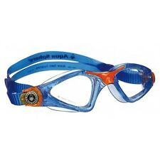 Aquasphere Kayenne Blue Swimming Googles Silicone Double Strap 170970