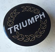 49MM TRIUMPH WHEELS WHEEL CAP RESIN 3D DOME BADGE SLOT MAGS ACCLAIM L HL HLS