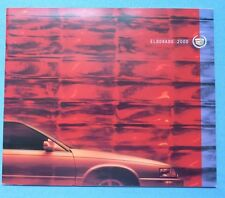 2000 Cadillac Eldorado Dealer Sales Brochure~Original Showroom Auto Car Catalog