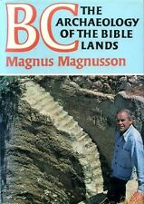 Magnusson, Magnus BC THE ARCHAEOLOGY OF BIBLE LANDS 1977 Hardback BOOK