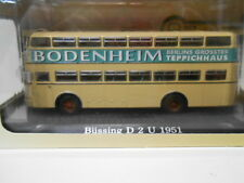 BUSSING D 2 U 1951 BUS COLLECTION ATLAS DeAGOSTINI 1/72