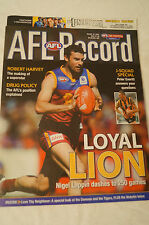 AFL Footy Record - 2005 - Loyal Lion - Nigel Lappin dashes to 250 games