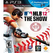 MLB 12 THE SHOW PS3 COME NUOVO MOLTO BELLO E RARO