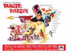 Danger Diabolik Poster 02 A2 Box Canvas Print