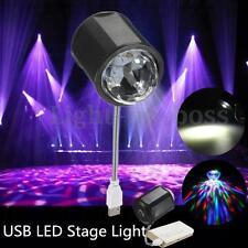 Mini Lampada 4W LED RGB Projector Stage USB Lighting DJ Disco Party Club DC 5V