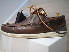 Vidvim Hockney FBT FOLK 2-Eye Folk Dark Brown sz 11 US UK 10 EU