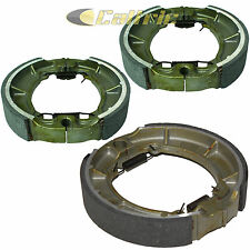 FRONT & REAR BRAKE SHOES KAWASAKI KLF220 BAYOU 220 1997 1998 1999 2000 2001 2002