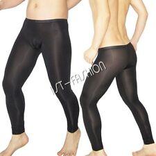 Sexy Herren Lange Unterhose Long Wäsche Männer Hose Lang Strumpfhose Leggings