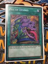 POT OF DESIRES TDIL-EN066 SECRET RARE 1ST EDITION