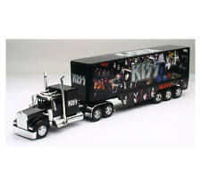 Newray 1/32 Scale Kenworth W900 KISS Rock Band Semi Truck & Trailer 12453