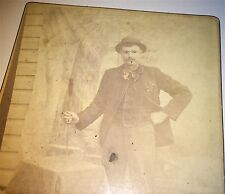 Antique Victorian American Occupational Salesman Display Product Cabinet Photo!