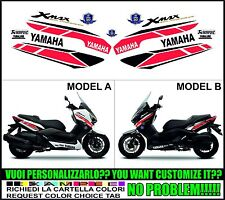 kit adesivi stickers compatibili xmax 125 250 400 2014 50 th anniversary