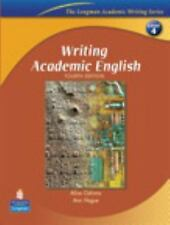 Writing Academic English by Ann Hogue and Alice Oshima (2005, Paperback)